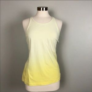 Gap Body Fit Racer Back Ombré Tank Top Large